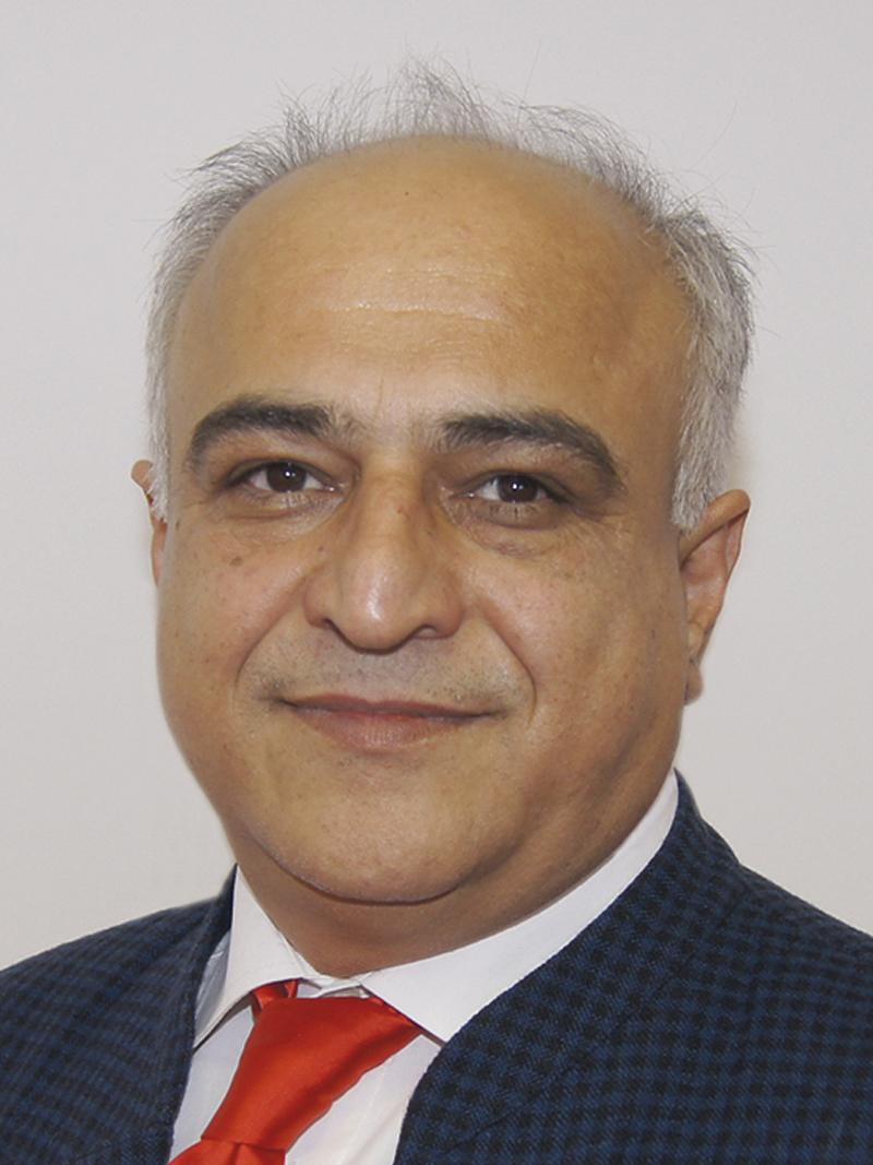 Geschäftsührer & Entwicklungsleiter DI Dr. Morteza Fesharaki