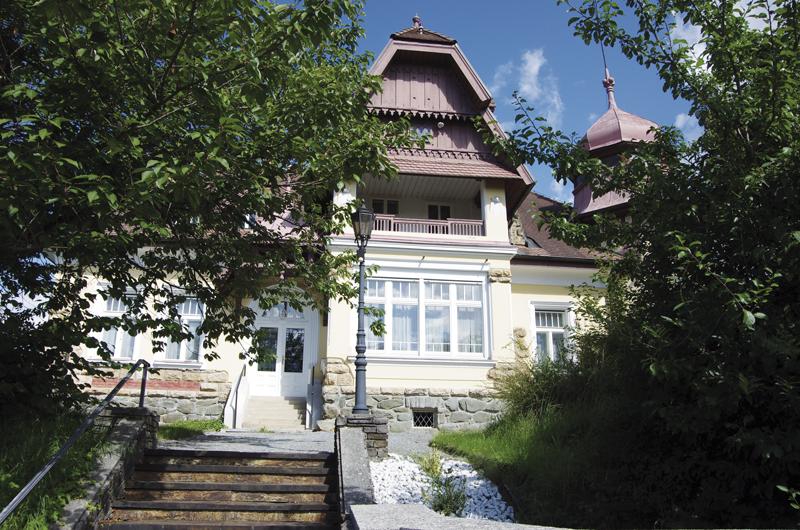 Die Villa Lehner gilt als Baujuwel der Gemeinde