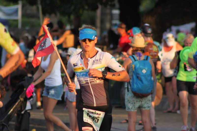 Ironman Weltmeisterin Michaela Rudolf erzählt