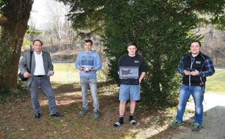 Drohnen zur Früherkennung von Waldschäden