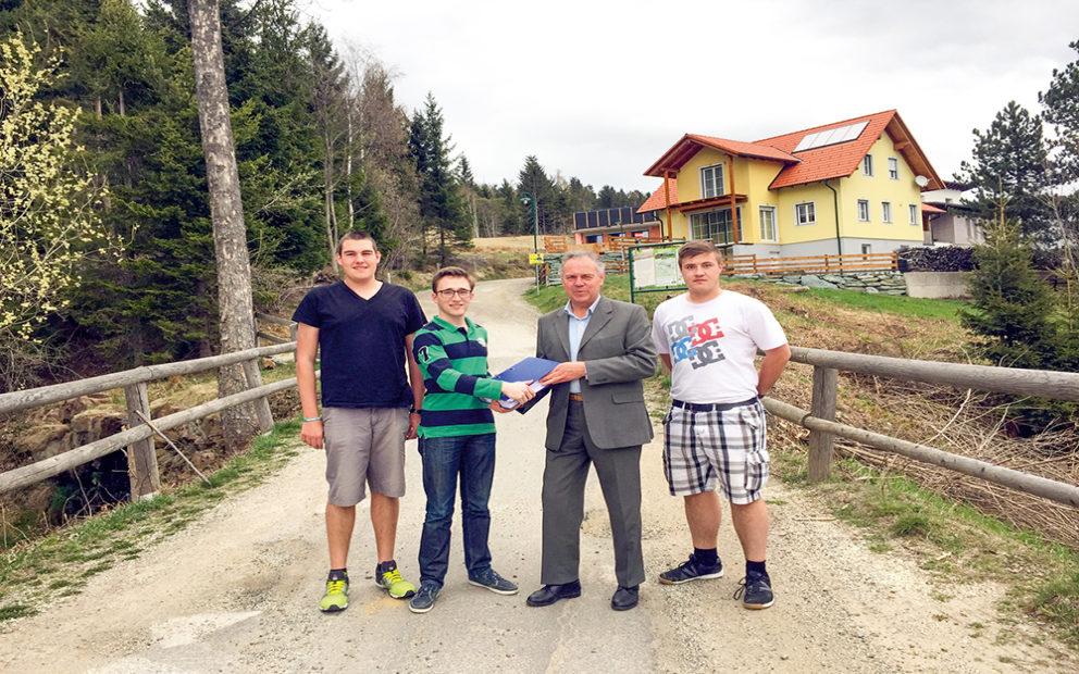 Revitalisierung eines Teils der Marktgemeinde Mönichkirchen