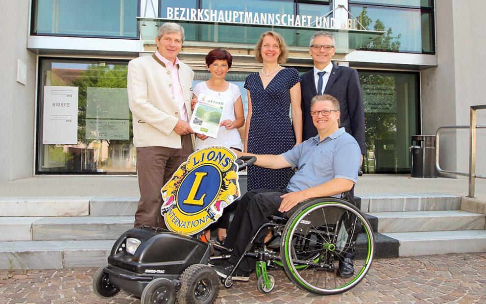 Unterstützung für Leo Pürrer