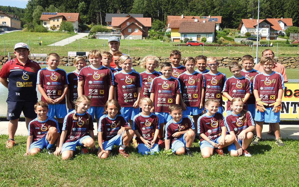 9. Lafnitztaler Fußballcamp mit 157 Kindern