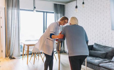 Pflegeberufe  – Unterstützung Zuhause
