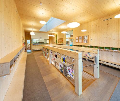 Auszeichnung für Kindergarten aus Holz