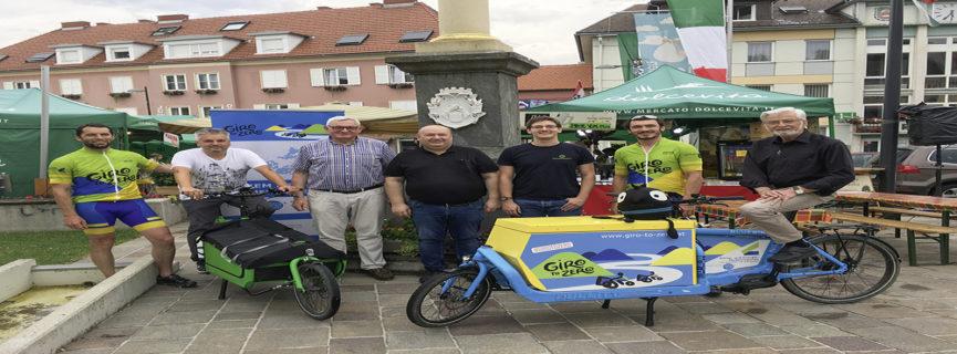 Österreich-Radtour gegen den Temperaturanstieg