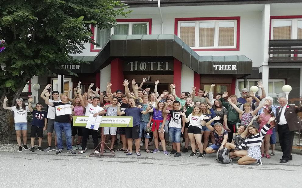 Grenzenlose Freundschaft – Jugendbegegnung in Mönichkirchen