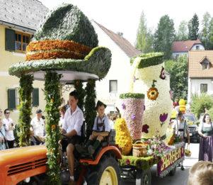 15. Blumenkorso der Steirischen Blumenstraße