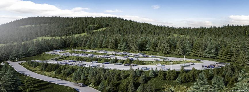 Neue Parkplätze für die Schischaukel Mönichkirchen-Mariensee