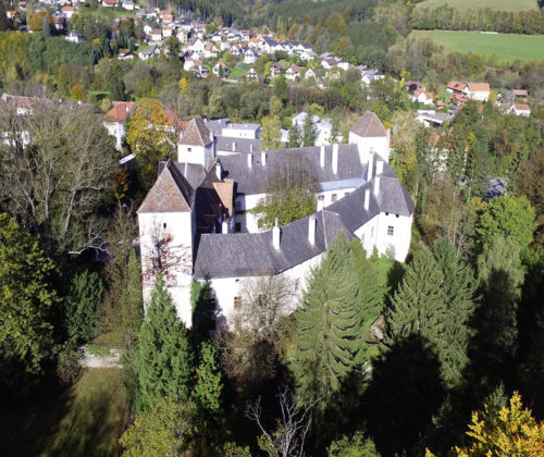 Burgen im Wechselland