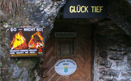 Hermannshöhle erhält moderne LED-Beleuchtung