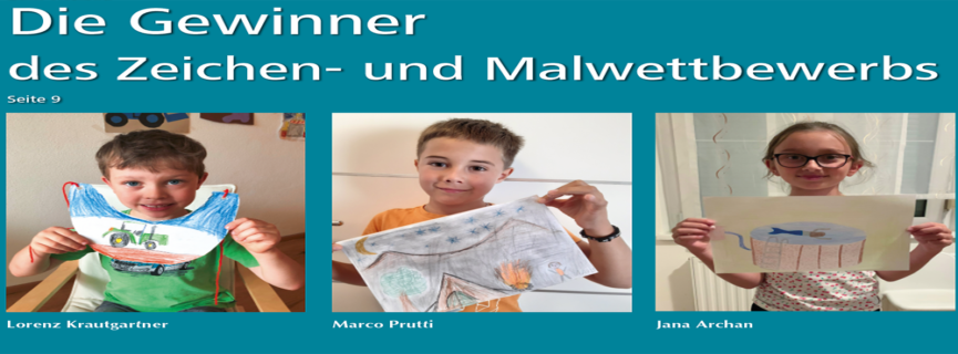 Die Gewinner des WLZ – Zeichen- und Malwettbewerb für Kinder
