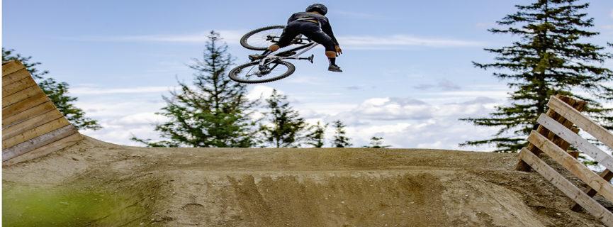 Neue Jumpline bei  den Wexl Trails