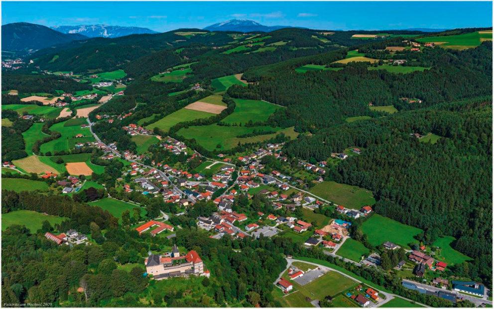 Gemeinde-Besuch: Feistritz am Wechsel