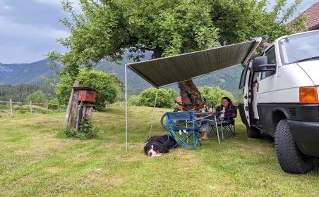 Camping: Gastfreundschaft hautnah erleben
