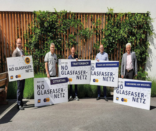 Vier Gemeinden im Wechselland bekommen Chance auf Glasfaserinfrastruktur