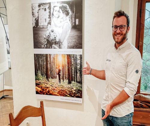 Fotoarbeit mit Auszeichnung veredelt