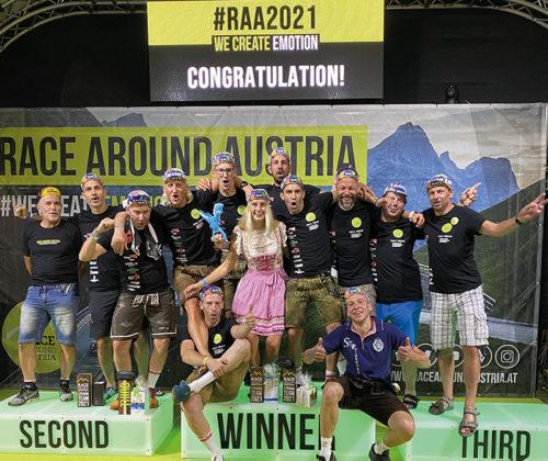 Der RC Friedberg Pinggau beim Race Around Austria