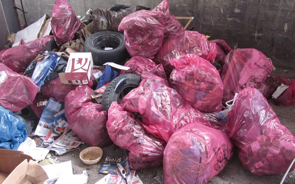 Müll der anderen sammeln