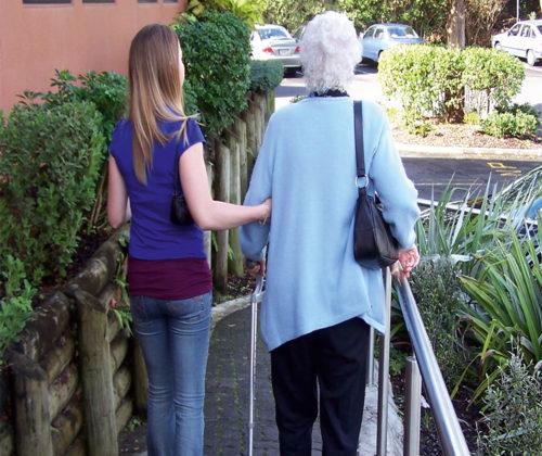 Älter werden … Hilfe annehmen