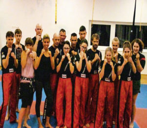 Fettverbrennung  durch Kampfsport