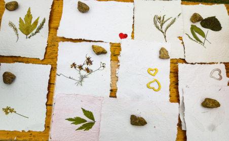 DIY: Papier selbst herstellen